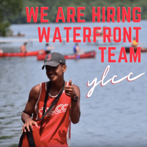 YLCC is hiring a waterfront team!
