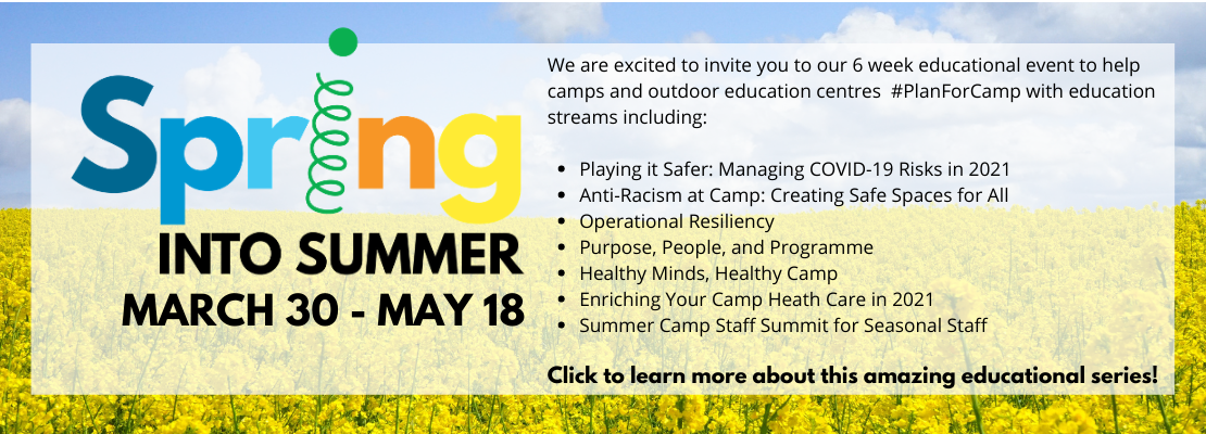 Click here to learn about Spring into Summer, the OCA Educational Series
